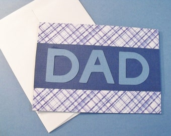 Handmade DAD Father's Day Greeting Card