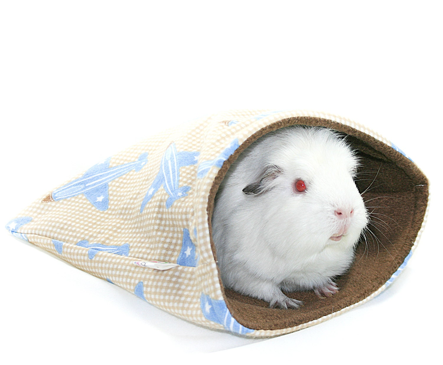 Sleep In Bags for Guinea Pigs Planes by Studio4Paws on Etsy