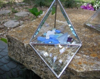 "3"" Pyramid Glass Box"