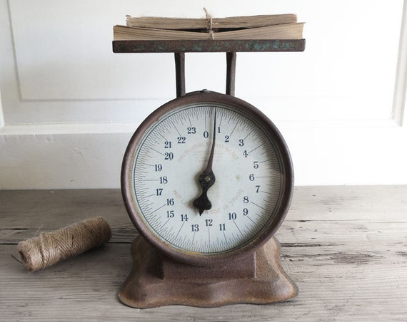 Vintage rustic scale vintage rustic kitchen by for Rustic kitchen scale