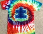 Autism Awareness t-shirt, Tie-dye Puzzle Piece T-shirt, Youth and Adult Sizes