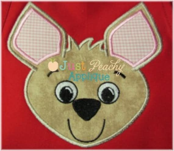 Chihuahua Full Body and Head Machine Embroidery Applique Designs Buy 2 for 4! Use Coupon Code 50OFF