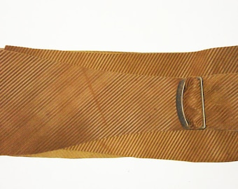 leather belt cognac XS, S, M, L, XL made to measure buckle closure vintage hippie gypsy