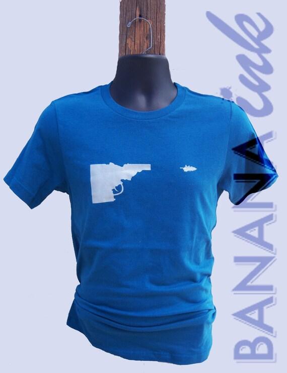Idaho gun tree tee banana ink for Boise t shirt printing