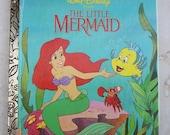 The Little Mermaid  Little Golden Book Walt Disney Presents The Little Mermaid  1992