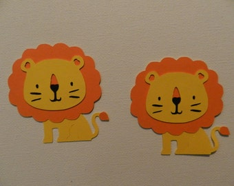 Lion die cuts