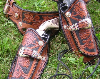 Western Custom Holsters and Belts for Cowboy Action and SASS