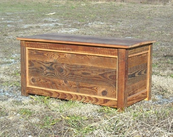 Barn wood Hope Chest/ Blanket Chest