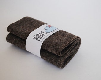 100 Percent Wool Felt Roll - 12x90cm - Donkey