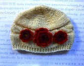 Baby Hat, Newborn Baby Girl Hat, Infant Hat Baby Girl Photo Prop