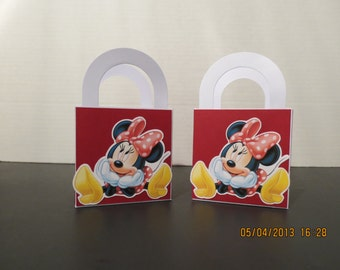 Minnie Mouse Favor/Treat Bags (Set of 8)