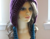 0026 - PDF PATTERN for Crocheted Pixie Inspired Pointy Hat - Size Teen to Adult