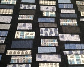 """Doctor Who Handmade """"Doomsday"""" quilt throw blanket Made to Order"""