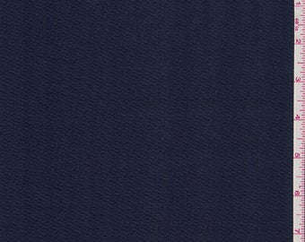 "60"" Navy Blue Cotton Pique Fabric-15 Yards Wholesale By The Bolt"