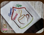 Home brewed embroidery design