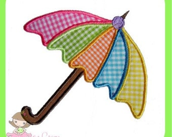 Umbrella Applique  design