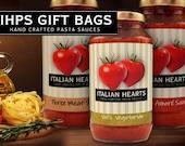 Italian Hearts Gift Bags