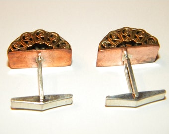 Steampunk cuff links