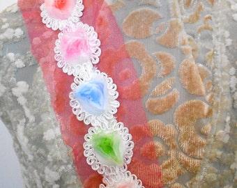 Pastel Floral Appliques