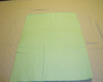 "New Light Mint Blue/Green Cotton Flannel 36""  x 44 inches"""