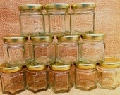 25 qty 2 ounce mini honey, jam or jelly jar