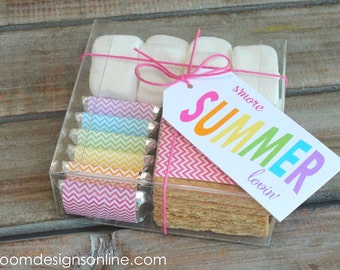 S'more boxes with printable