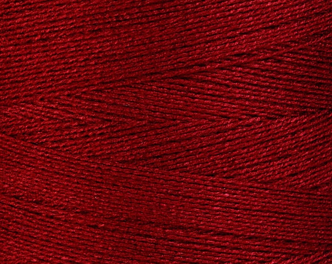 0.5mm Red bamboo cord - Bamboo thread - Macrame cord - Red Bamboo thread (865) - Flat rate shipping