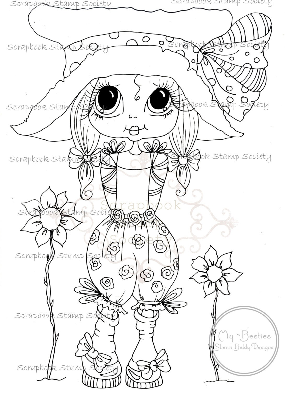 INSTANT DOWNLOAD Digital Digi Stamps
