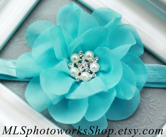 Tiffany Blue Flower Baby