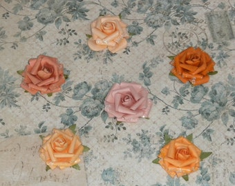 Mulberry Roses Magnets/Favors- Wedding, Christening & Other Special Occasions