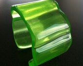 Green Apple Resin Cuff
