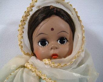 "Madame Alexander ""India"" 8"" Doll Vintage"