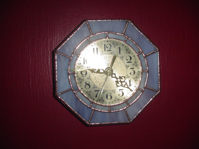 Fused Glass Wall Clocks