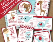 Kids Valentines | DIY PRINTABLE | Classroom Valentine | Valentines for Christian School | Bible Verse Cards | SET of 8 | Instant Download