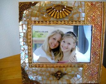 Elegant  Mosaic Picture Frame