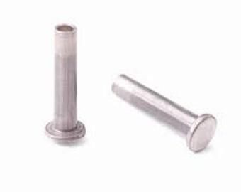 """Aluminum Rivets 1/16"""" Dia. 9/32"""" Long, 1/16"""" Dia. 13/32"""" Long, and 1/16 Dia. 15/32"""" Long"""