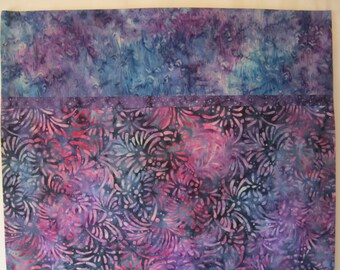 FULL BLOOM Batik Pillowcase