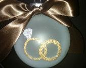Wedding, Engagement, or Anniversary Ornament