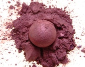 All Natural Mineral Eye Shadow in Blackberry (Vegan)