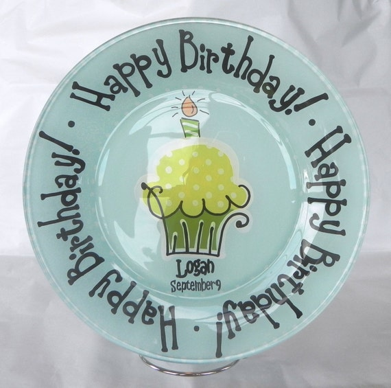 Birthday Plate - Made to Order
