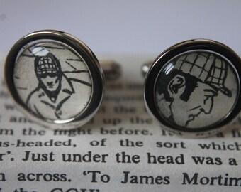 Sherlock Holmes// Holmes pictures //Literature Cufflinks // Arthur Conan Doyle