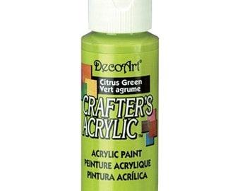 Citrus Green Acrylic Paint (2oz)