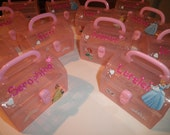 Princess Personalized  Party Favors Customized Birthday Goody Bags