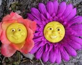 Flower Face Magnet