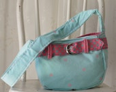 Small Corduroy Purse Repurposed Small Bag Again