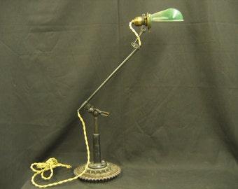 Steampunk Industrial Lamp Tonearm