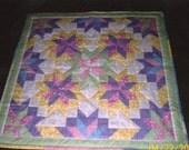 Baby Starburst Quilt Pattern - Intermediate - Quarter-Inch Seams