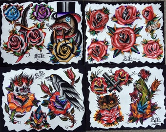 Tattoo Flash set 2012  2013