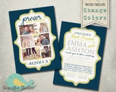 Wedding Announcement Templates and Save the Date - Wedding Announcement 17