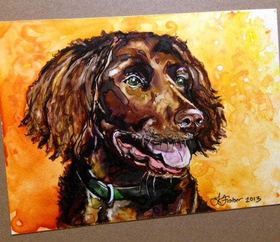 CUSTOM Pet Portrait Painting | Watercolor | Small Sizes